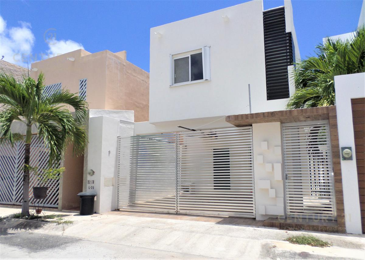 Foto Casa en condominio en Renta en  Cancún,  Benito Juárez  CASA EN RENTA EN CANCUN A 10 MIN DE LA PLAYA C2855