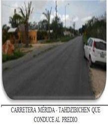 Foto Terreno en Venta en  Hacienda Tahdzibichen,  Mérida  CLAVE 50378, TERRENO EN VENTA TAHDZIBICHEN, CARRETERA MERIDA, YUCATAN $7,555,000, SOLO CONTADO, MUY NEGOCIABLE