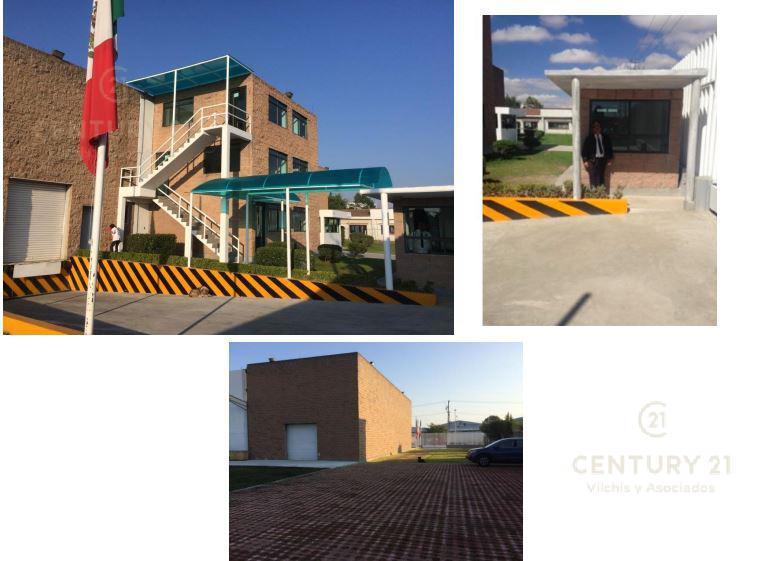 Foto Bodega Industrial en Venta en  San Pedro Totoltepec,  Toluca  BODEGA EN VENTA EN BOULEVARD AEROPUERTO