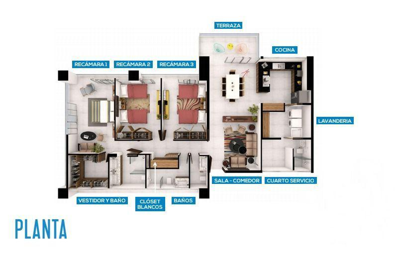 Benito Juárez Apartment for Sale scene image 2
