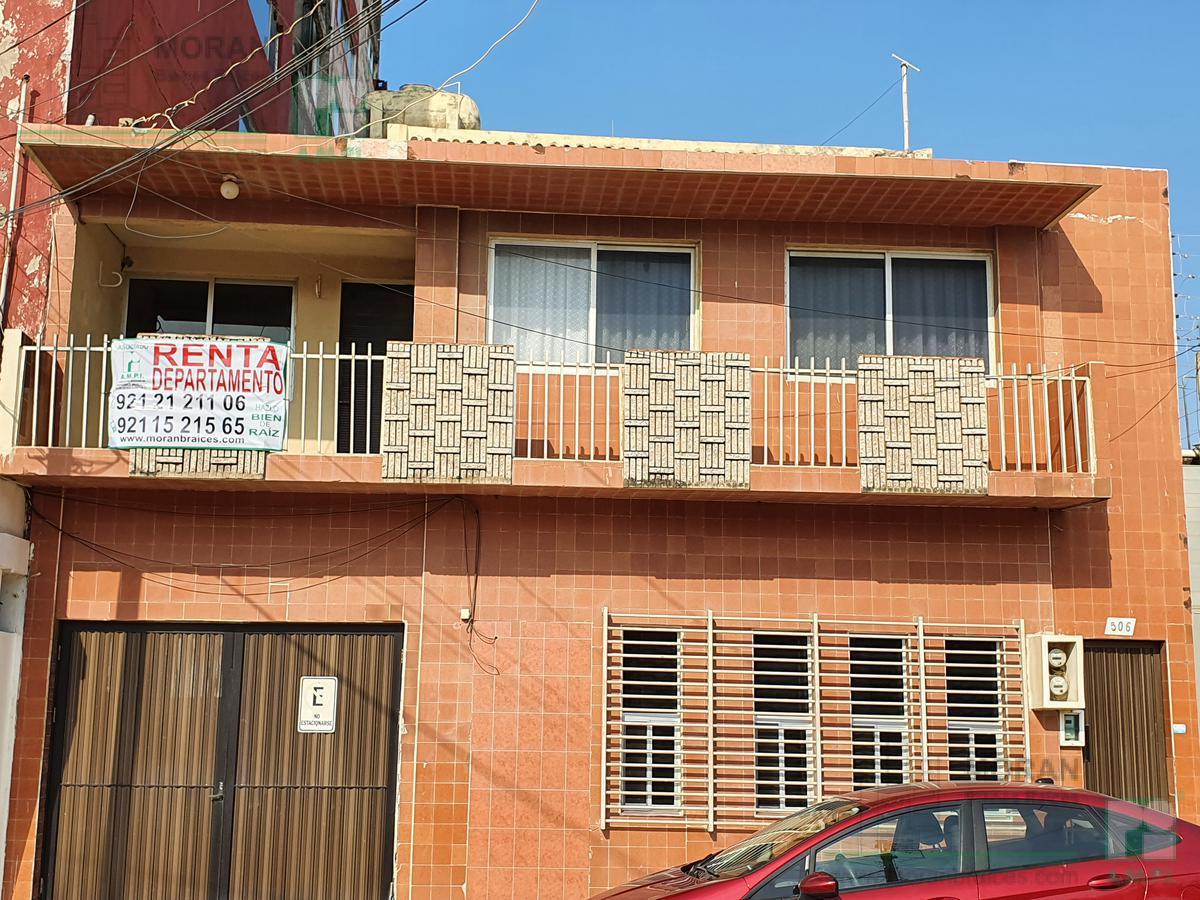 Foto Departamento en Renta en  Coatzacoalcos Centro,  Coatzacoalcos  Paseo Miguel Alemán No. 506 altos, zona Centro, Coatzacoalcos, Ver.