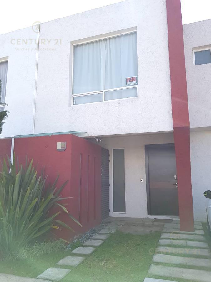 Foto Casa en condominio en Renta en  Capultitlan,  Toluca  CASA EN RENTA EN LA RIVERA II, TOLUCA, POR PASEOS DEL VALLE