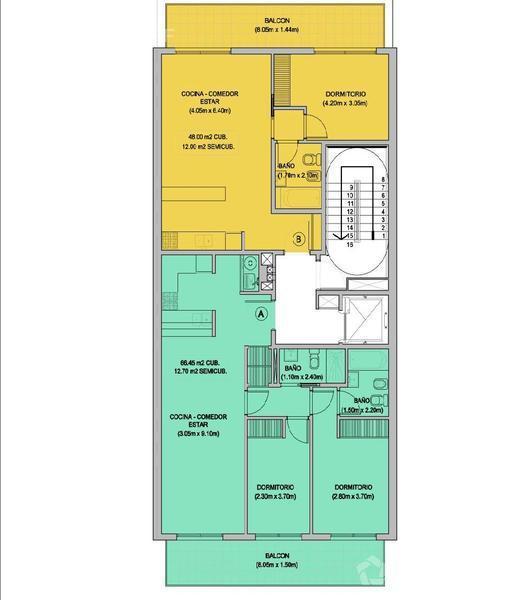 Departamento-Venta-Villa Urquiza-MONROE 4600 e/Alvarez Thomas y Miller