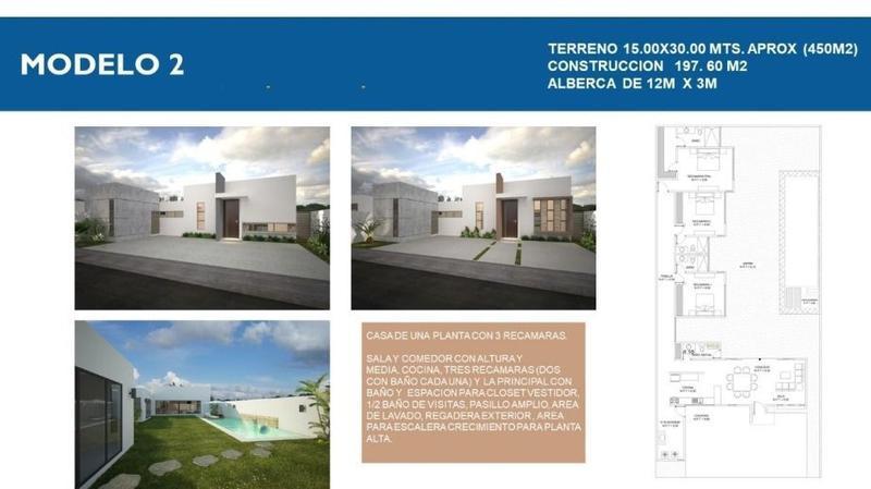 Foto Casa en Venta en  San Diego Cutz,  Conkal  Casa en Venta Una Planta (Mod 2)San Diego Cutz Mérida Yucatán