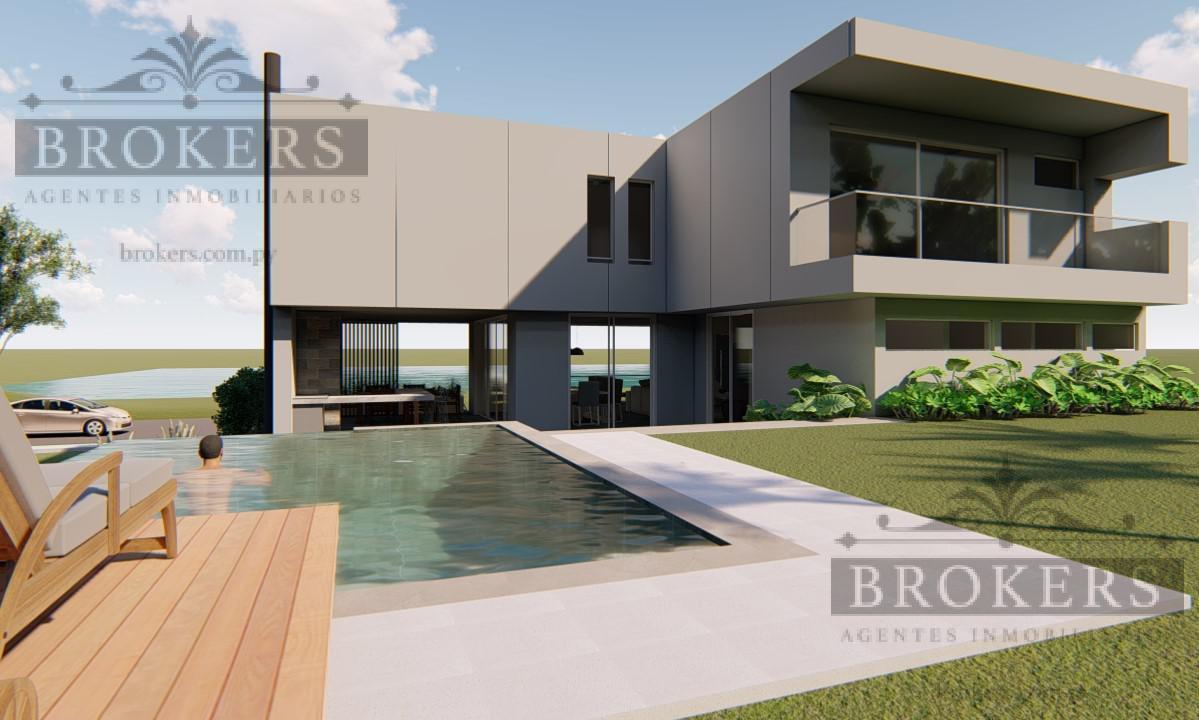 Foto Casa en Venta en  Altos,  Altos  Vendo Casa en Construccion en Aqua Village Altos 4 suites, piscina, 2 cocheras