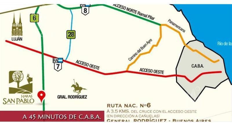 Foto Terreno en Venta en  Haras San Pablo,  Countries/B.Cerrado (G. Rodriguez)  Interna al 200