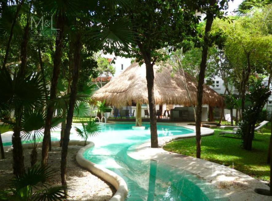 Foto Casa en condominio en Renta en  El Table,  Cancún  Casa en Renta de 3 recámaras, en XIKNAL, El Table Cancún, Q. Roo