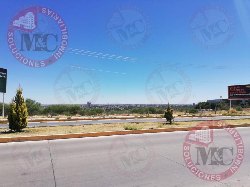Foto Terreno en Renta en  Zona industrial Parque Industrial Tecno Polo,  Aguascalientes  M C RENTA TERRENO COMERCIAL AL NORTE POR EL TEC DE MONTERREY