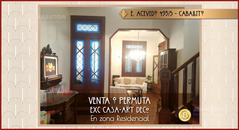 Foto Casa en Venta en  Caballito ,  Capital Federal  Acevedo al 400