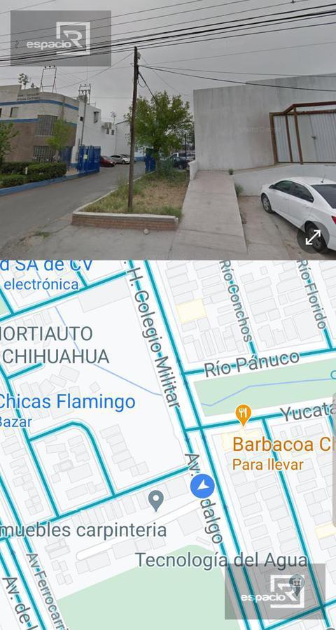 Foto Bodega Industrial en Venta en  Industrial,  Chihuahua  BODEGA O LOCAL EN VENTA O RENTA SOBRE HERÓICO COLEGIO MILITAR