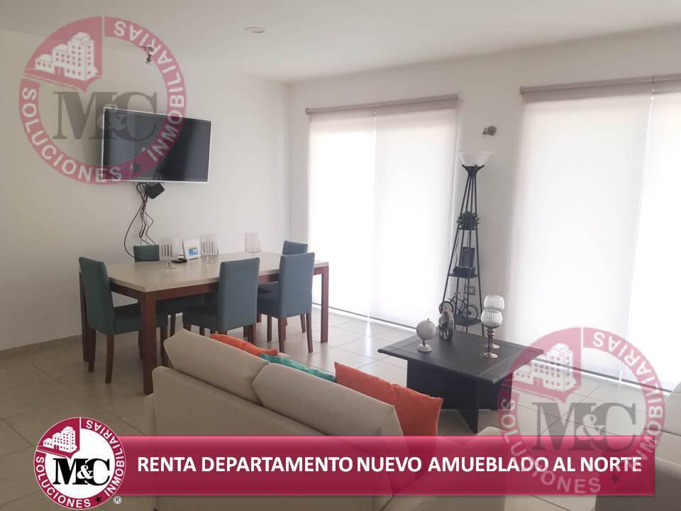 Foto Departamento en Renta en  Residencial Privanza de Gratamira,  Jesús María  RENTA DEPARTAMENTO NUEVO AMUEBLADO NORTE