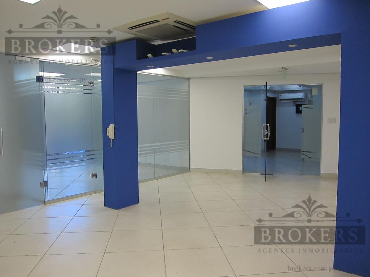 Foto Oficina en Alquiler en  La Recoleta ,  Asunción  Alquilo Oficina corporativa 130 m2 en planta baja, Barrio Recoleta