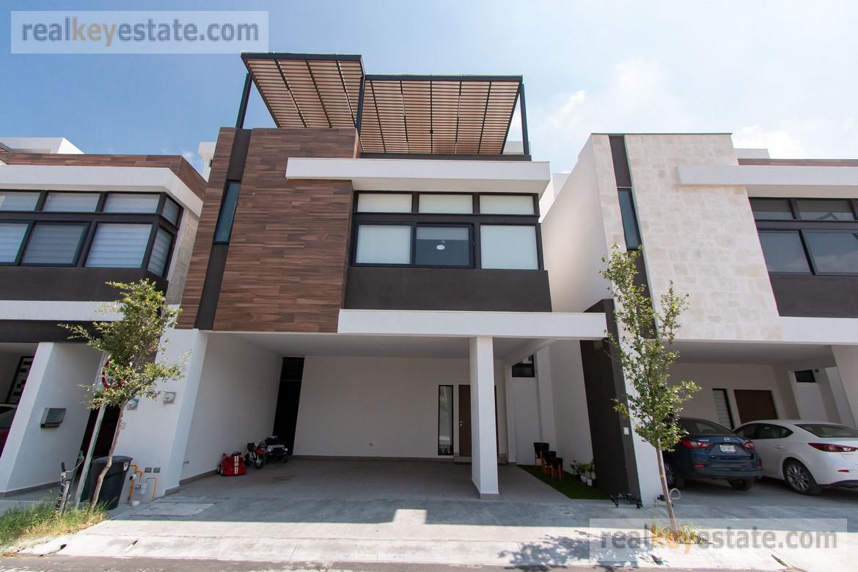 Foto Casa en Venta en  Monterrey ,  Nuevo León  CASA EN VENTA EN ESTANZA RESIDENCIAL, CARRETERA NACIONAL, MONTERREY NL