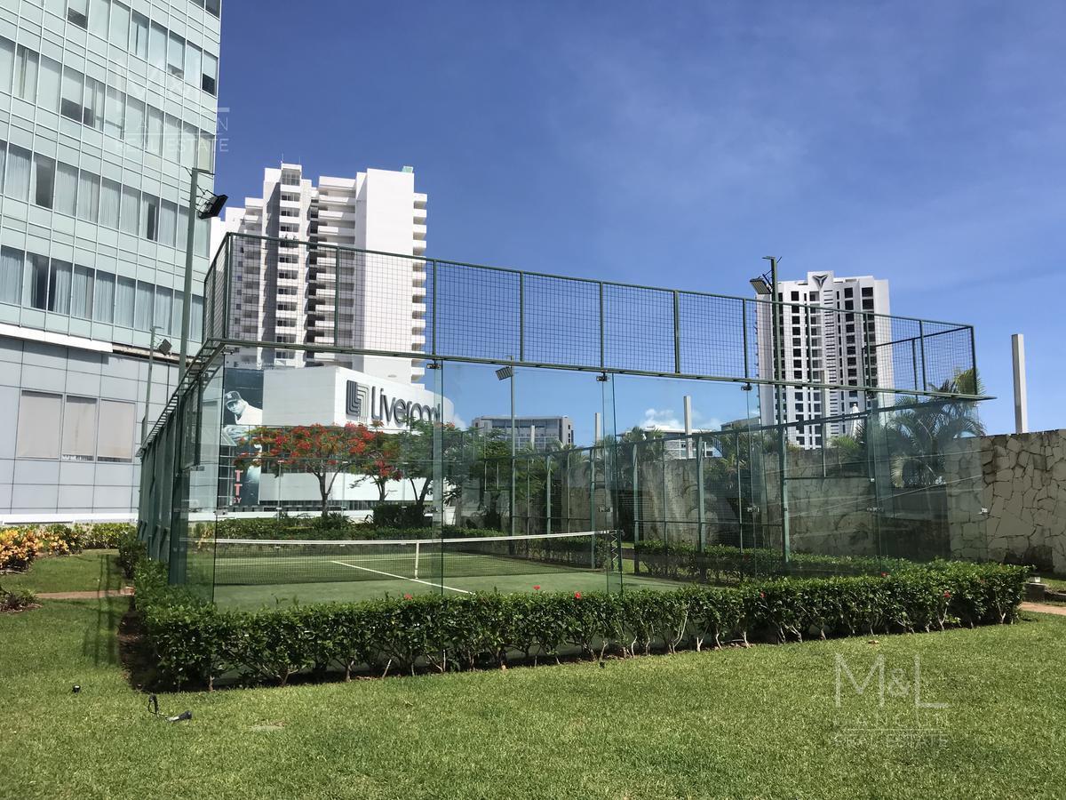 Foto Departamento en Renta en  Benito Juárez ,  Quintana Roo  Departamento en Renta en Cancún, 2 recámaras en Residencial Malecón