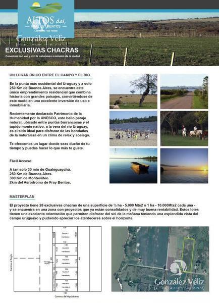 Foto Chacra en Venta en  Villa Soriano ,  Soriano  fray bentos