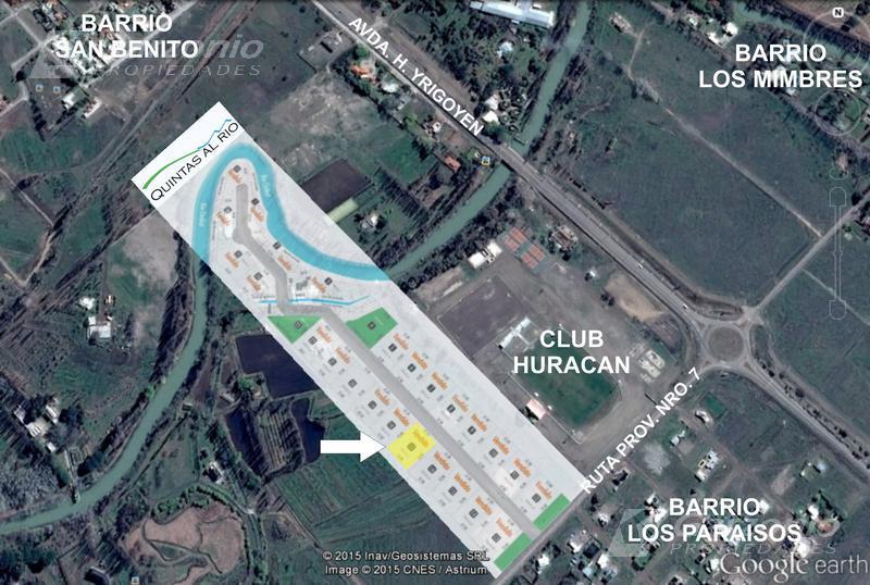 Foto Terreno en Venta en  Trelew ,  Chubut  Quintas al Rio