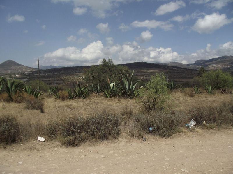 Foto Terreno en Venta en  San Agustín Tlaxiaca ,  Hidalgo  TERRENO SOBRE CARRETERA PACHUCA ACTOPAN, EL DURAZNO