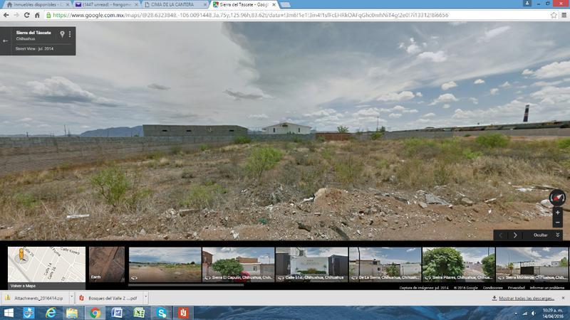 Foto Terreno en Venta en  Nogales,  Chihuahua  Terreno comercial en venta Col. Nogales