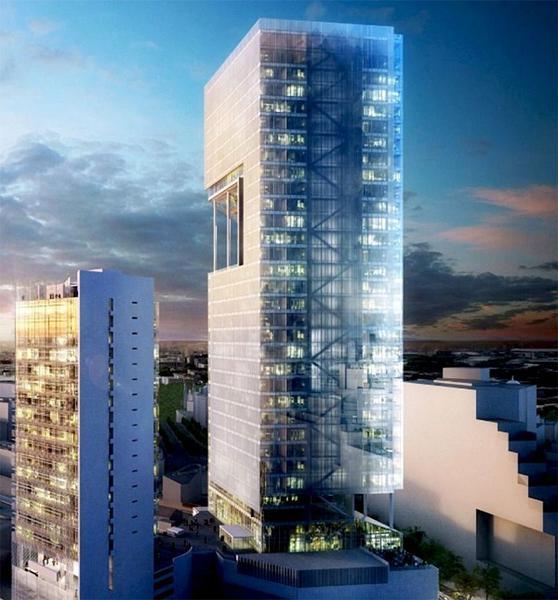 Foto Edificio Comercial en Renta en  Juárez,  Cuauhtémoc  Col. Juárez, sobre Reforma. ESTRENE 2,513m2, Piso 9 al 11, Lujoso