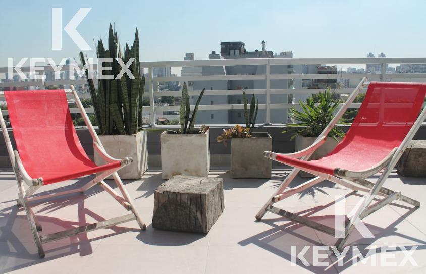 Foto Departamento en Alquiler temporario en  Palermo Soho,  Palermo  Dos ambientes con gran terraza