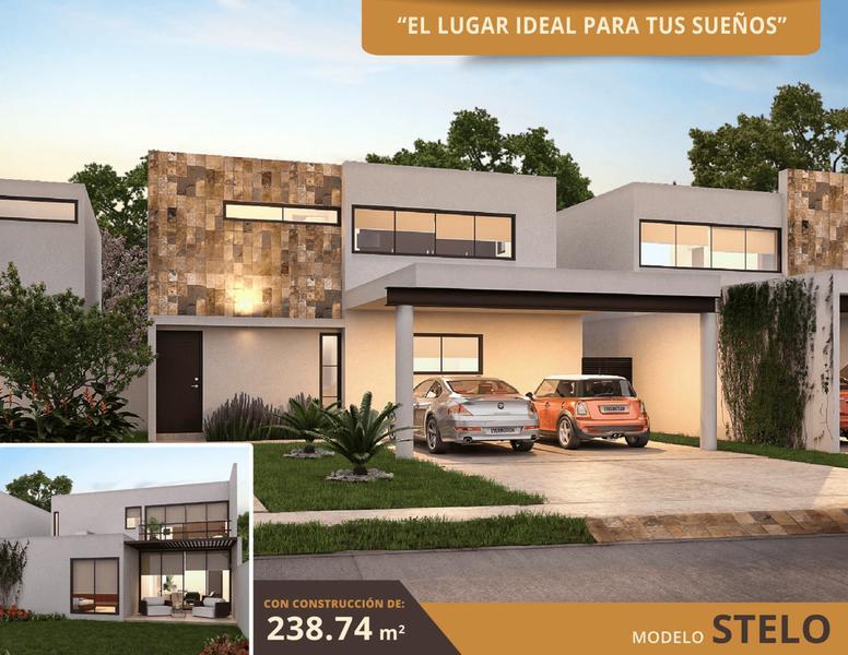 Foto Casa en Venta en  Conkal ,  Yucatán  Privada Abedul Mod. Stelo