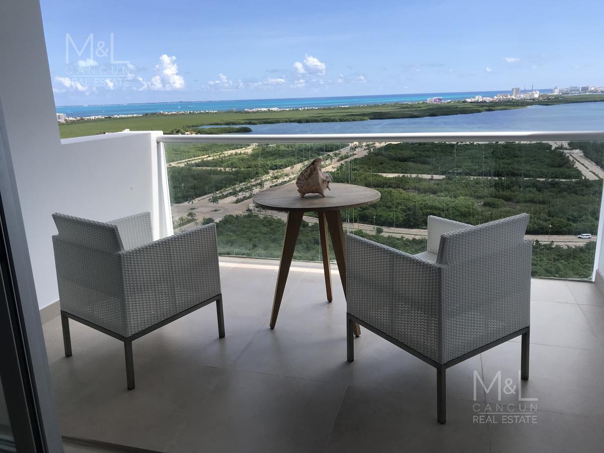 Foto Departamento en Venta en  Benito Juárez ,  Quintana Roo  Departamento en venta en Cancún, 3 recámaras en Residencial Malecón