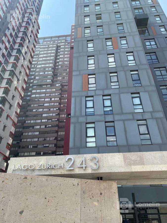 Foto Departamento en Renta en  Ampliación Granada,  Miguel Hidalgo  Departamento en renta Lago Zurich 243 / Nuevo Polanco