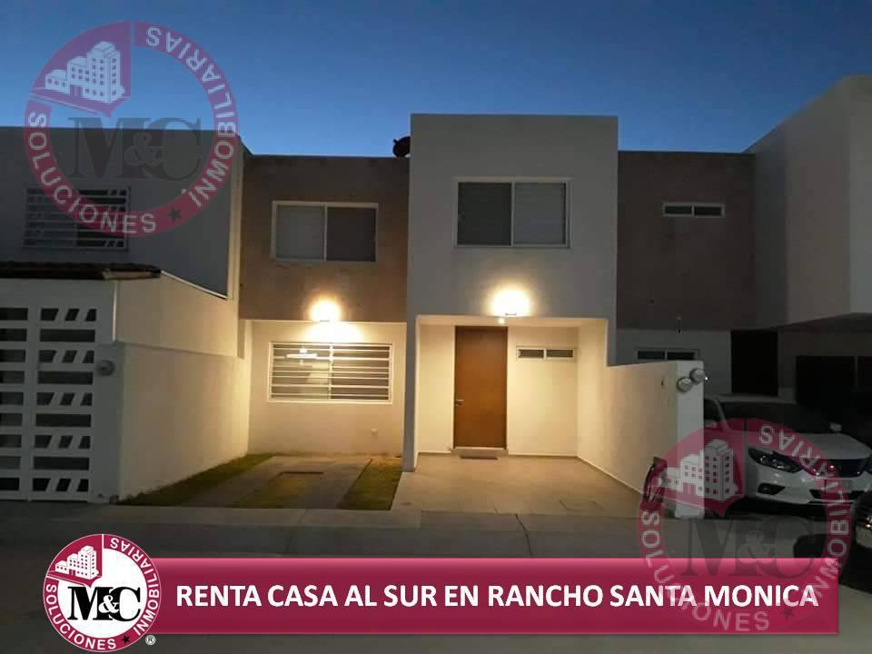 Foto Casa en Renta en  Fraccionamiento Rancho Santa Mónica,  Aguascalientes  Casa en Renta en Rancho Santa Mónica al sur de Aguascalientes
