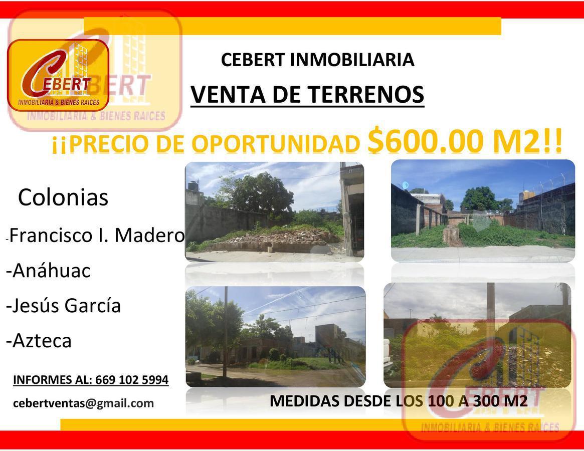 Foto Terreno en Venta en  Mazatlán ,  Sinaloa  TERRENOS EN VENTA EN MAZATLAN PRECIO DE OPORTUNIDAD $600.00 M2