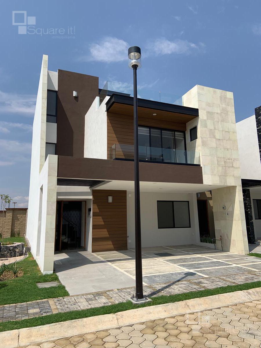 Foto Casa en Renta en  Fraccionamiento Lomas de  Angelópolis,  San Andrés Cholula  Casa Nueva en Renta Modelo Olimpo en Altaria Residencial, Cascatta II