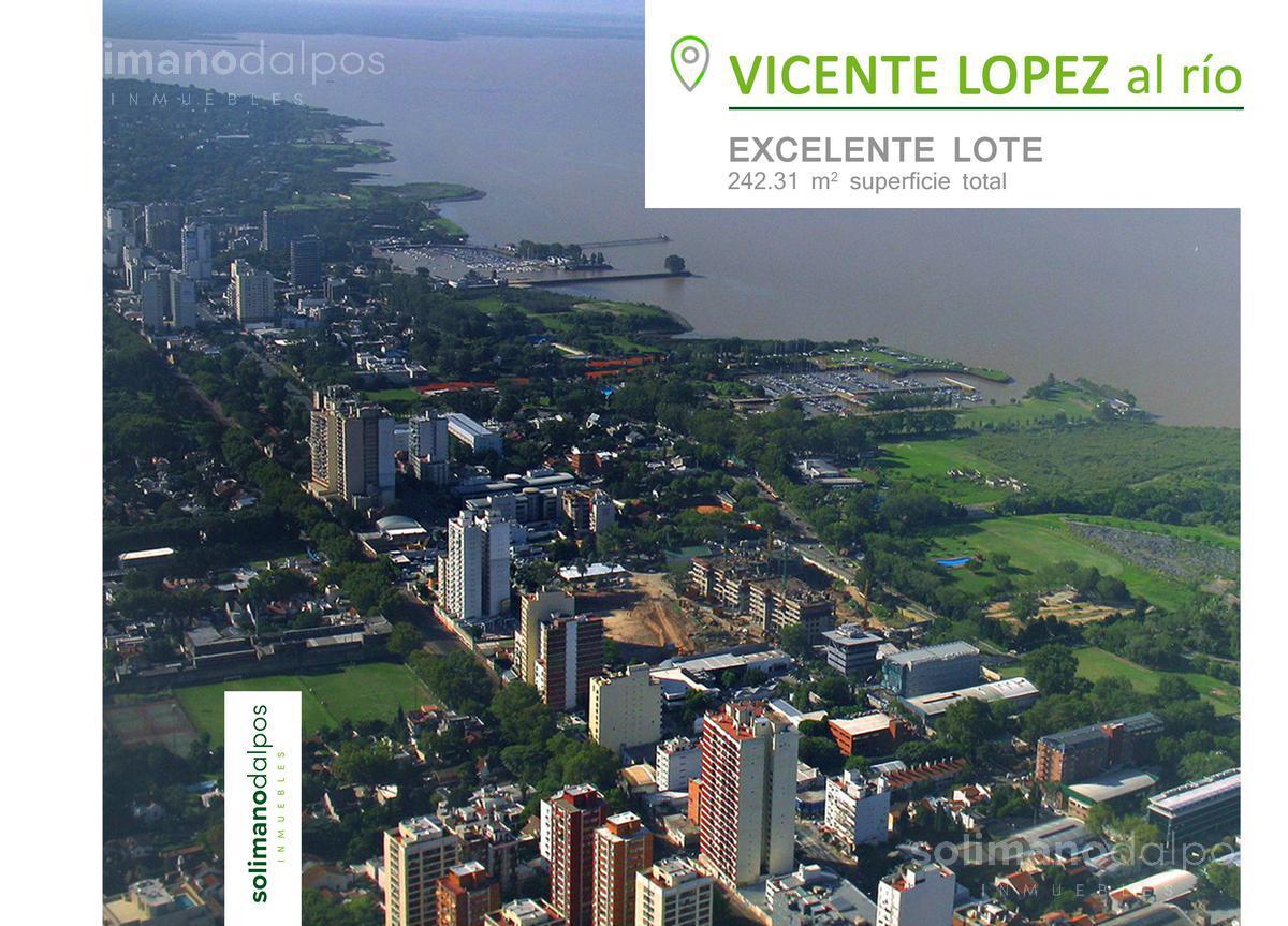 Foto Terreno en Venta en  V.Lopez-Vias/Rio,  Vicente Lopez  Guemes 600