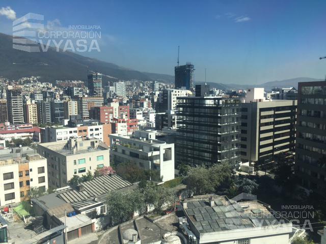 Foto Oficina en Alquiler en  Norte de Quito,  Quito  Bellavista - Av. Eloy Alfaro, Oficina de 275,00 m2 - Piso No. 8