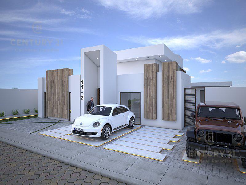 Foto Casa en Venta en  Playa del Carmen,  Solidaridad  Increíble Casa de Diseño Único 1 Sola Planta  P2832