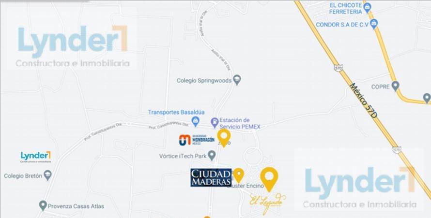 Foto Terreno en Venta en  Ciudad Maderas Residencial Querétaro,  El Marqués  LOTE COMERCIAL EN VENTA EN CIUDAD MADERAS QUERÉTARO