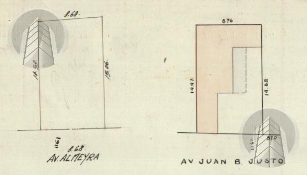 Foto Terreno en Venta en  Palermo ,  Capital Federal  Av. Juan B Justo al 1700