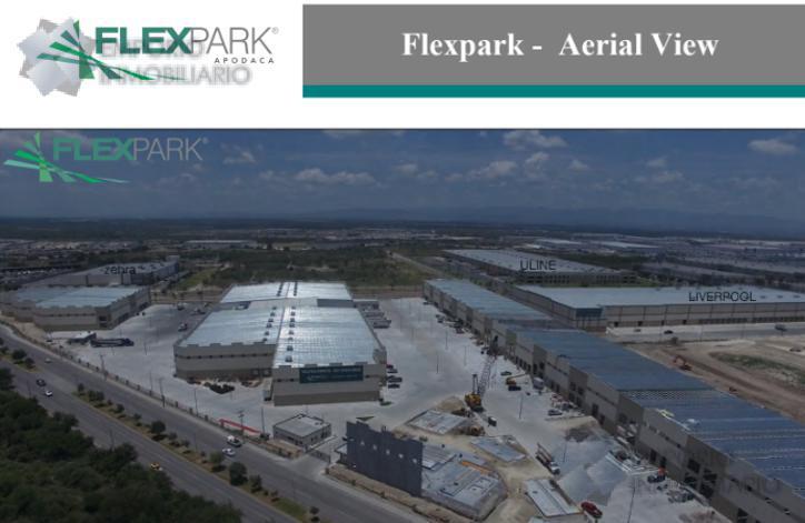 Foto Nave Industrial en Renta en  Moderno Apodaca,  Apodaca  Nave Industrial Renta Flex Park Apodaca $ 450,442.50 Adrnav EMO1