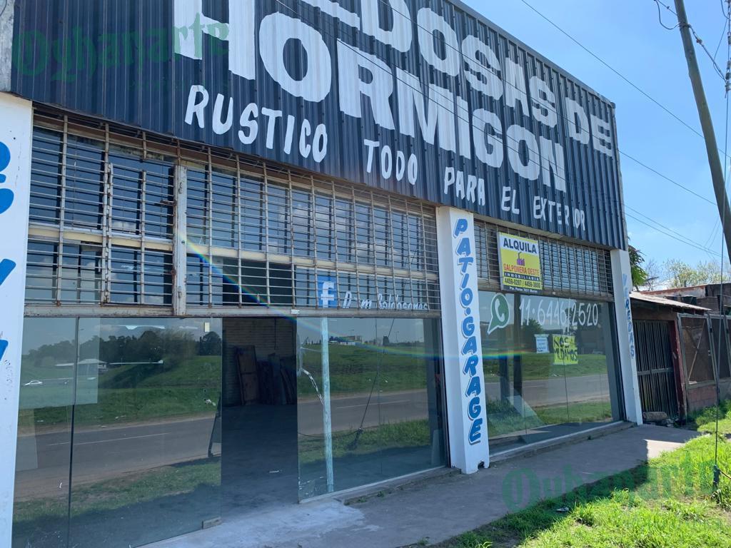 Foto Depósito en Alquiler en  Moreno ,  G.B.A. Zona Oeste  LOCAL en ALQUILER sobre ACCESO OESTE km33