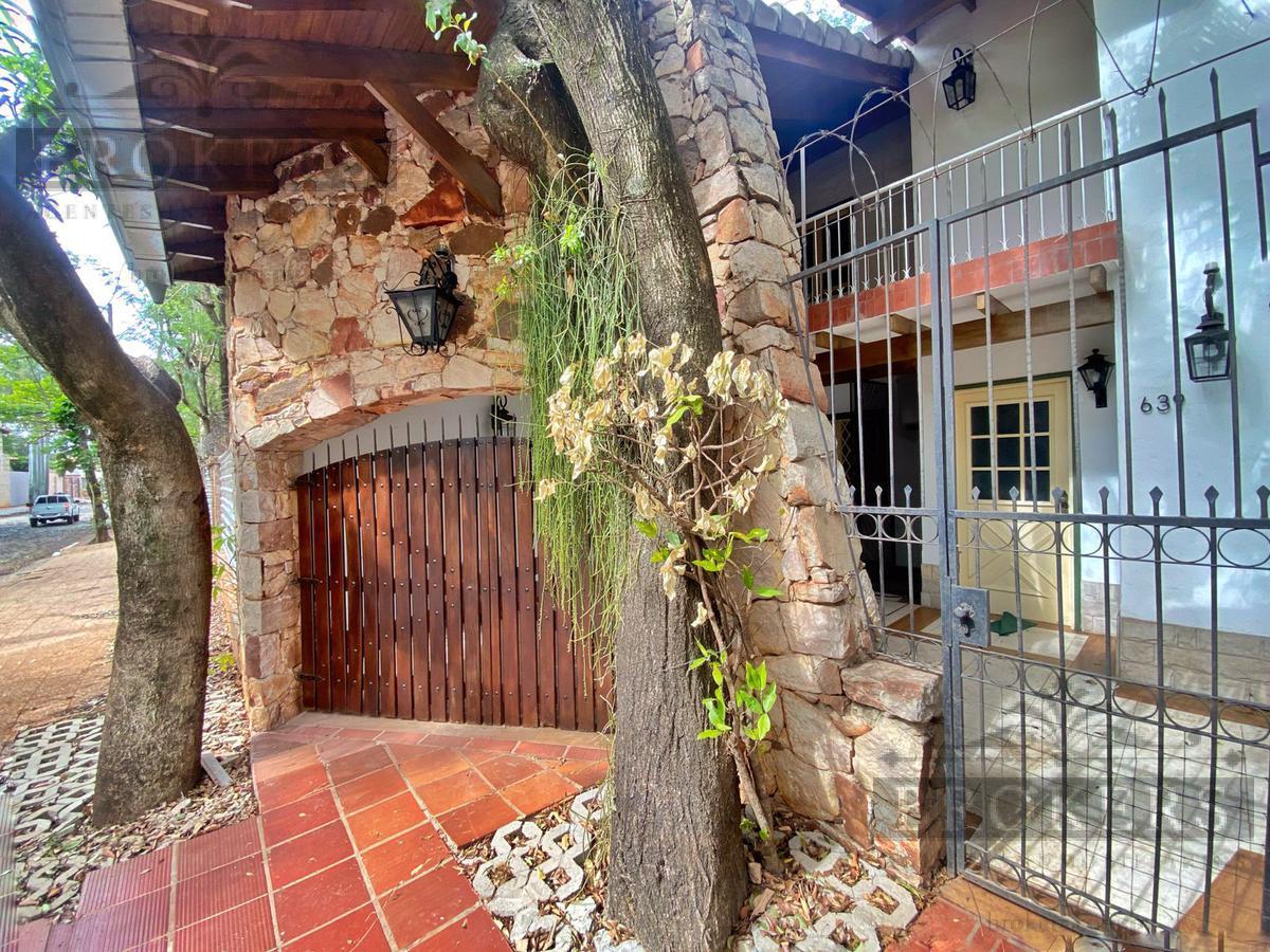 Foto Casa en Alquiler en  Mcal. Estigarribia,  La Recoleta  Alquilo Casa Para Vivienda u Oficina En Barrio Mcal Estigarribia