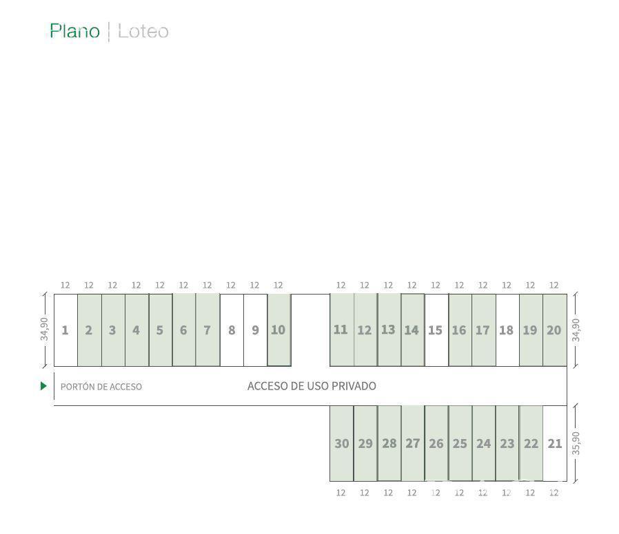 Terreno en Venta, 44 / 161 y 162 Lote 15 - La Plata - Buenos Aires