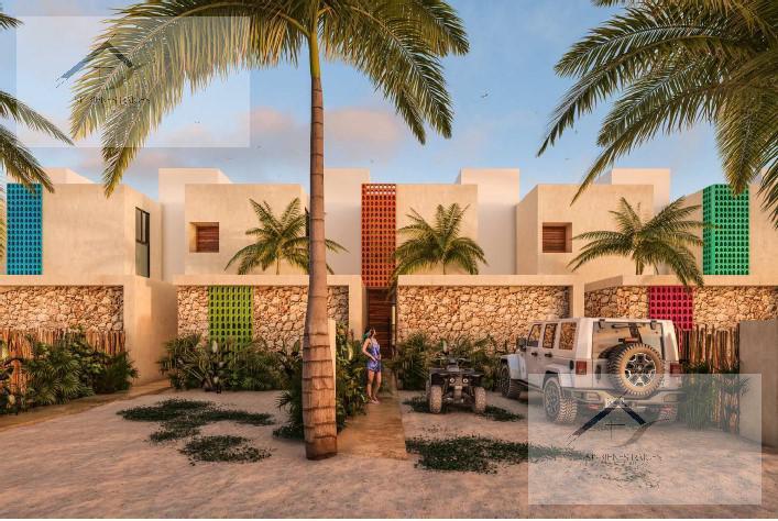Foto Departamento en Venta en  Pueblo Chicxulub,  Chicxulub Pueblo  Disfruta Villas & Townhouses Diez.Cinco excelentes amenidades playa