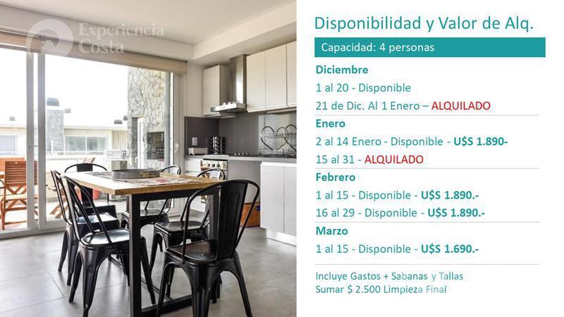 Foto Departamento en Alquiler temporario en  Barrio Costa Esmeralda,  Pinamar  Berdie 4D