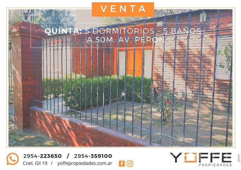 Foto Quinta en Alquiler en  Inti Hué,  Santa Rosa  Inti Hué
