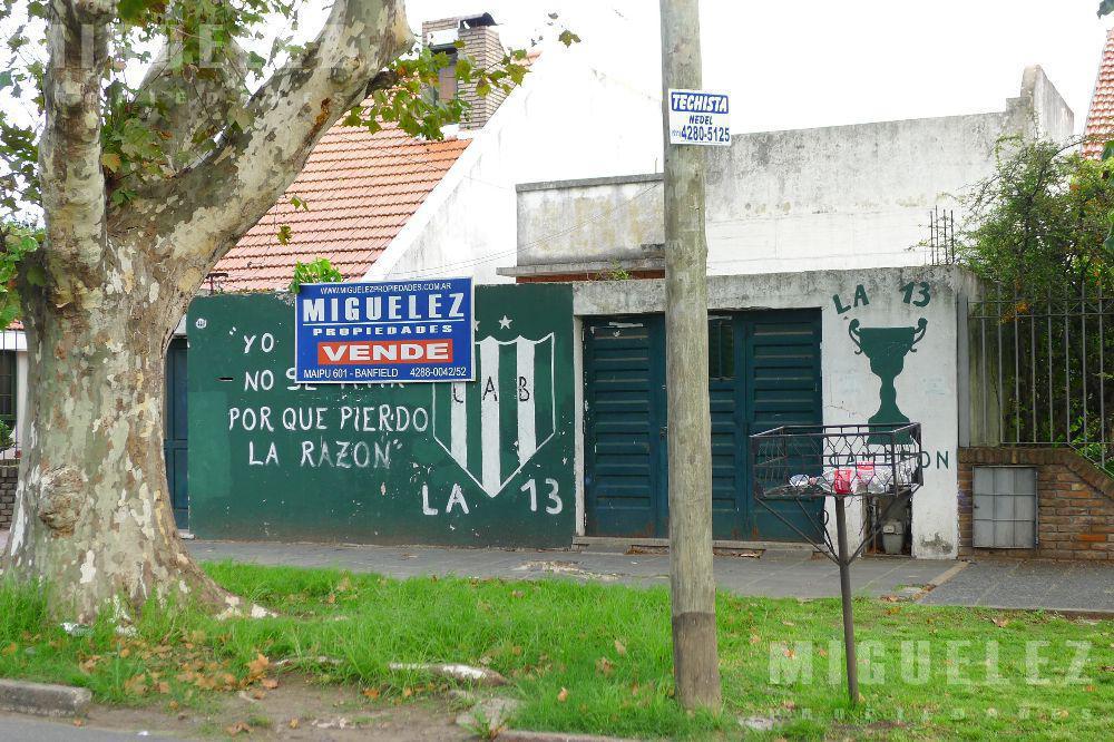 Foto Terreno en Venta en  Banfield,  Lomas De Zamora  Chacabuco 449