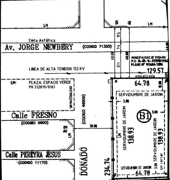 Newbery al 7600, , Santa Fe. Venta de Terrenos - Banchio Propiedades. Inmobiliaria en Rosario