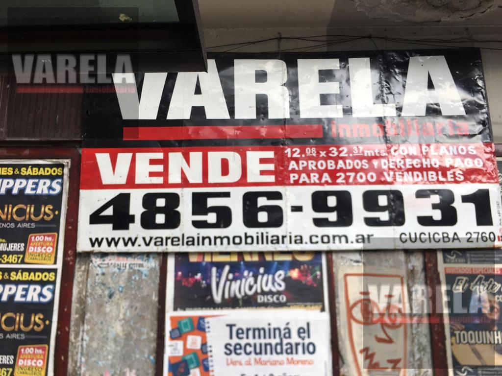 Foto Terreno en Venta en  Velez Sarsfield ,  Capital Federal  Avda. Rivadavia 8600