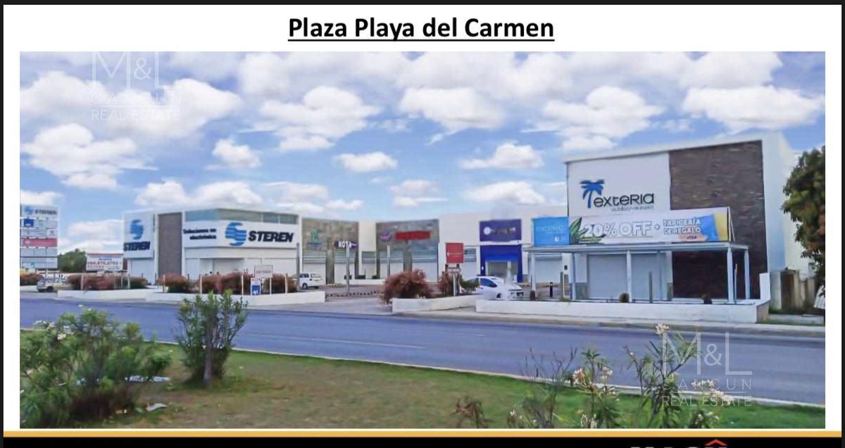 Foto Local en Renta en  Playa del Carmen,  Solidaridad  Local comercial en renta, en Playa del Carmen, PLAZA PLAYA DEL CARMEN, de 76 m2