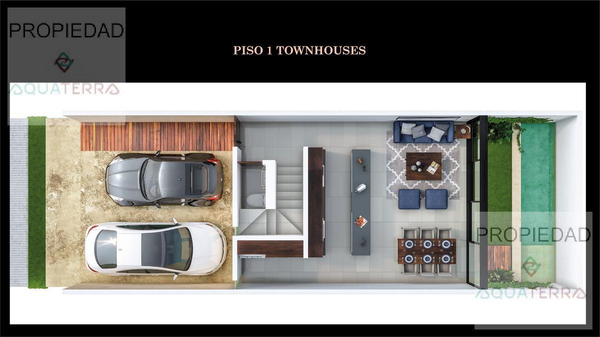 Privada de Townhouses y Villas en Temozón Norte