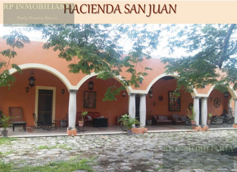 Foto Quinta en Venta en  Pueblo San Antonio Chun,  Umán  En venta  Hacienda San Juan, Umán, Yucatán