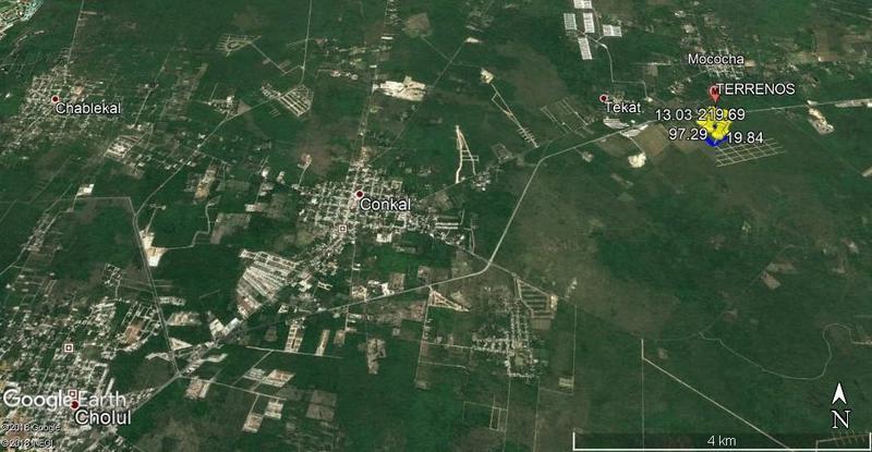 Grupo Mid Yucatan Bienes Raices Terreno En Venta En Conkal