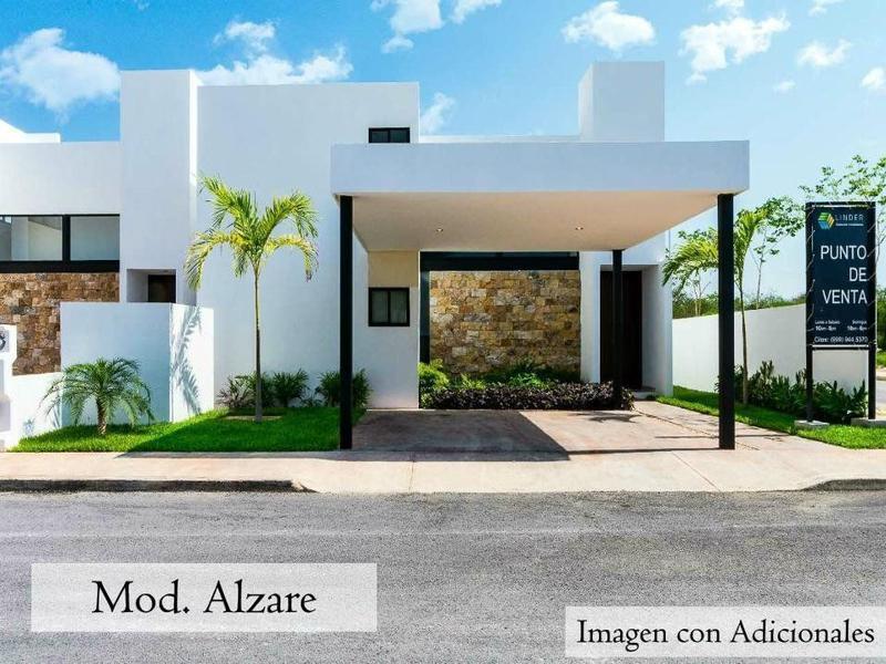 Foto Casa en Venta en  Pueblo Dzitya,  Mérida  ALZARE casas resdenciales DZITYA